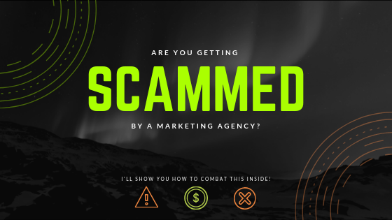 scammed scam scammer scamming seo content marketing black hat
