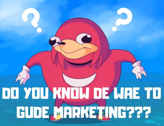 meme marketing example
