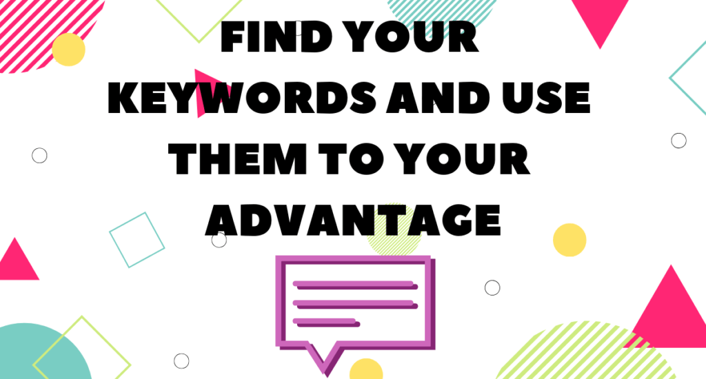 Using SEO keywords to optimize your site content