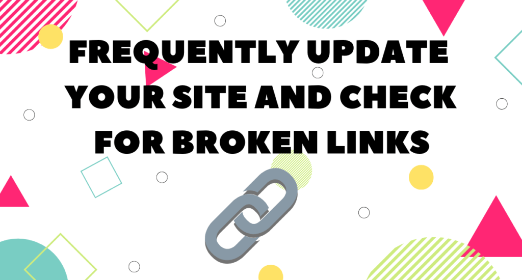 Optimize your site by checking links to help your SEO