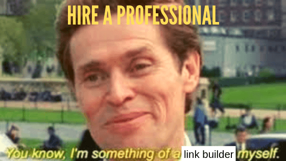 hire a professional backlinks